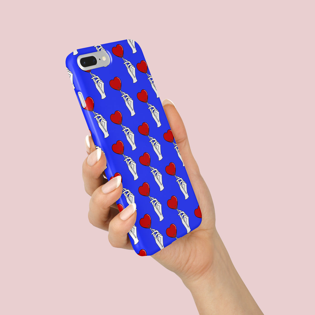 BLUE FEMINN Slim Phone Case for Iphone & Samsung