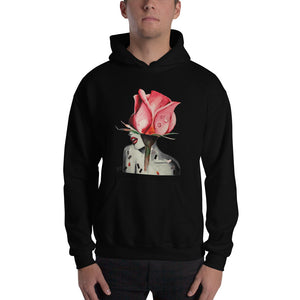Feminist woman print painting illustration HOODIE