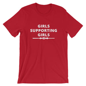 GIRLS SUPPORTING GIRLS Short-Sleeve Unisex T-Shirt