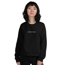 Load image into Gallery viewer, COMPLETE FEMME Black Sweatshirt