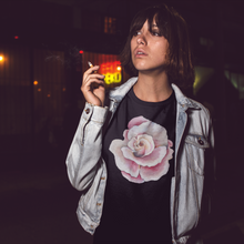 Load image into Gallery viewer, Short-Sleeve Unisex T-Shirt with HER2 Flower Print