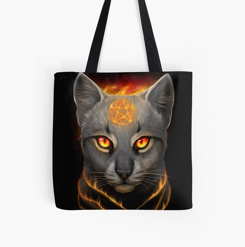 Fire Queen : Tote Bag