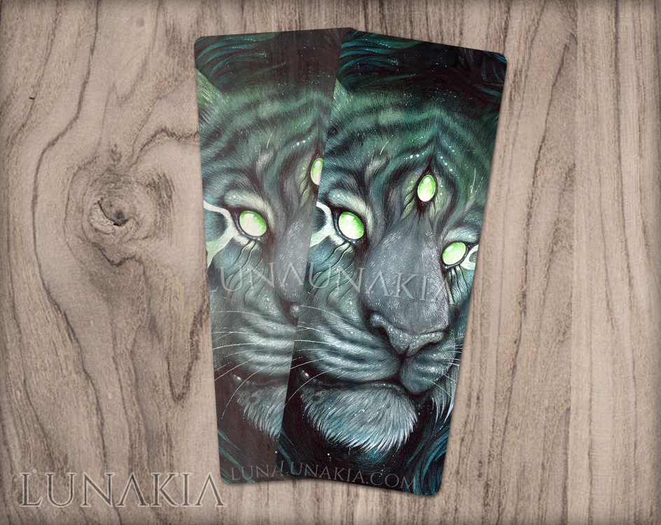Three Eyed Tiger : Bookmark