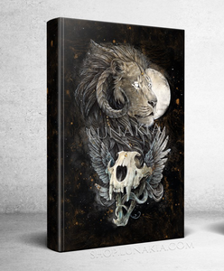 Lion's Gold : Hardcover Notebook