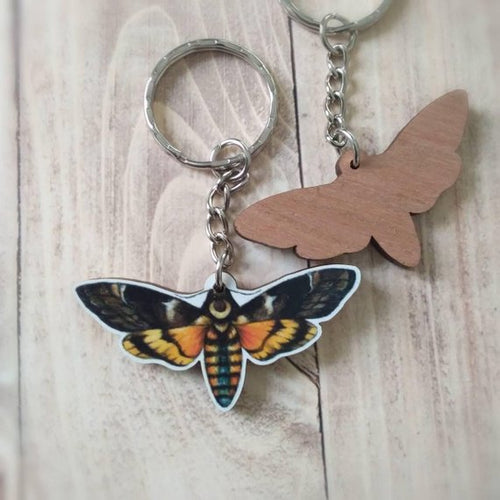 Moon Hawk Moth : Keychain