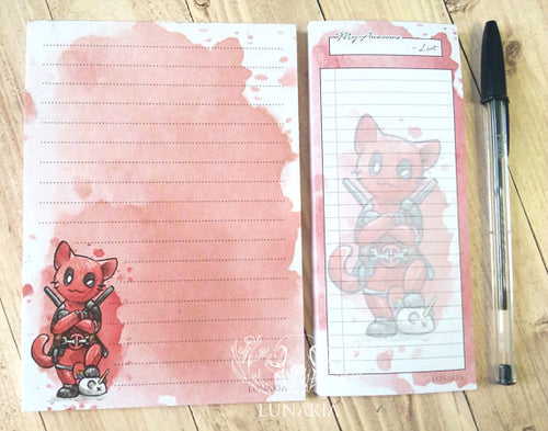 Catpool : Note Pad