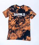 Black Bleach Dyed T-Shirt