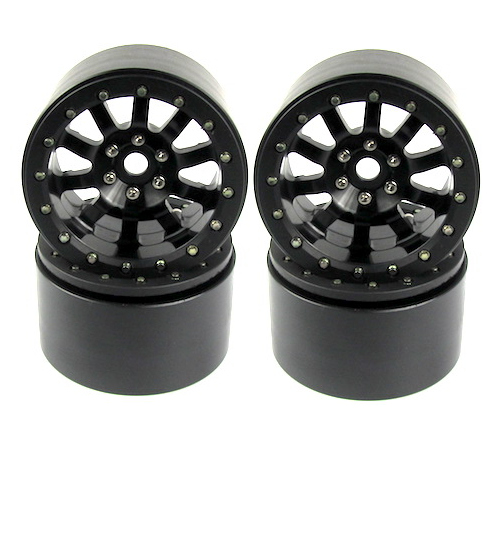 4pcs Trail Punisher Black 2.2 Beadlock wheel rims