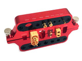 Red Aluminum RC soldering Jig Bullet Connectors, Deans XT60 X90T Plugs