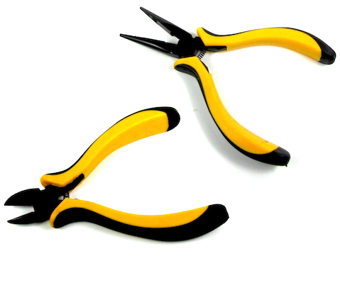 Comfort Grip RC Hobby Wire Cutters, Diagonal Cutters, Dykes & Needle Nose Pliers Set