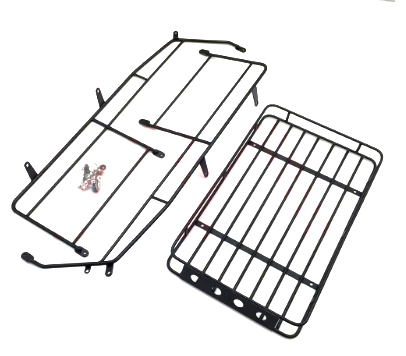 Traxxas TRX-4 Defender  Metal Cage Luggage Tray Roof Rack