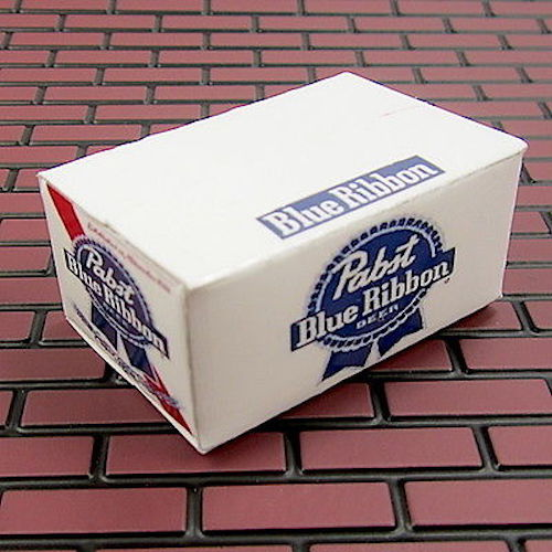 RC Scale Rock Crawler, Garage, Drift PBR Empty Case of Beer