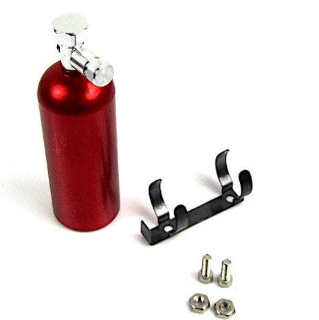 RC Scale Crawler, Drift, Garage Miniature Replica Fire Extinguisher