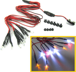 Super Bright 10 RC LED LIghts Kit