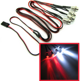 RC Plug & Play Headlight 5mm tail light 3mm kit