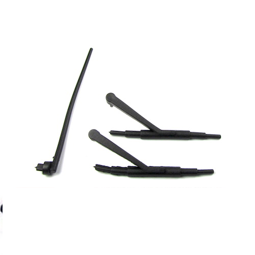 1/10 RC Scale Crawler TRX-4 SCX10 Windshield Wipers & Antenna
