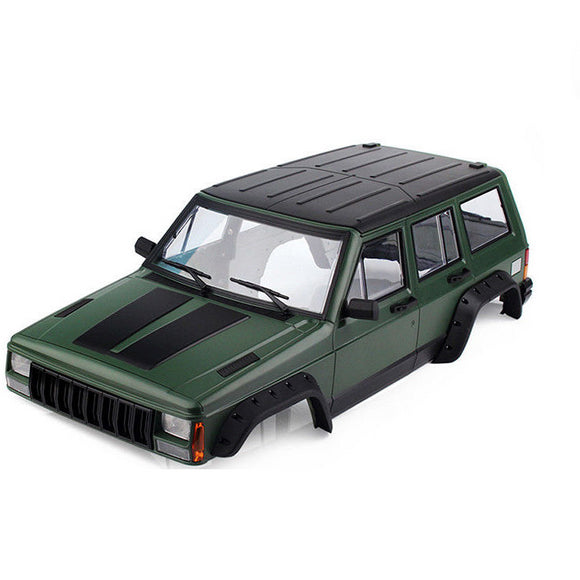 1/10 Jeep Cherokee Painted hard ABS Crawler Body 313mm