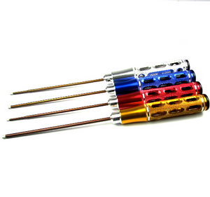 Pro Grade 4pcs color coded Steel Hex Screw Allen Driver RC Tool Set 1.5mm,2.0mm,2.5mm,3.0mm