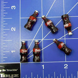 RC Crawler, Drift Scale Garage Popular Red Label Cola 6 Pack