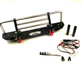 Copy of Traxxas TRX4 SCX10 II Front Bumper W/ LED lights