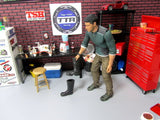 RC Scale Garage,Truck Rock Crawler Rubber Boots