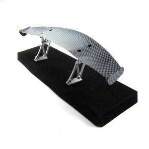 1/10 1/16 RC Drift Car 194x41mm Carbon Fiber Pattern GT Wing Rear Spoiler