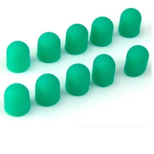 5mm Green Silicon LED Light Bulb Cap Cover