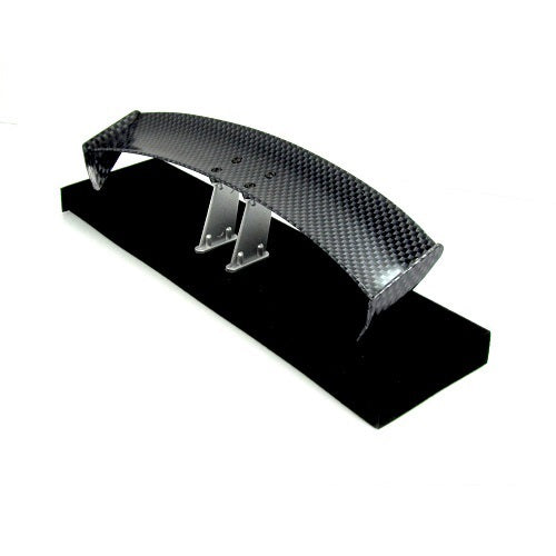 1/10 RC Racing Drift Car 175x28mm Carbon Fiber Pattern GT Wing Rear Spoiler