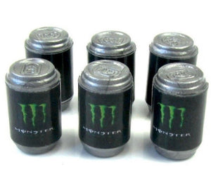 Limited Edition RC Scale Crawler, Garage, Drift Six Pack Cans energy drink