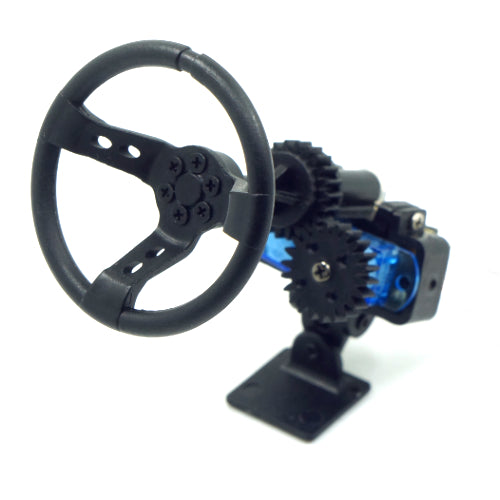 X DarkDragonWing Motion Steering Wheel For 1:10 Touring Drift Crawler RC Car