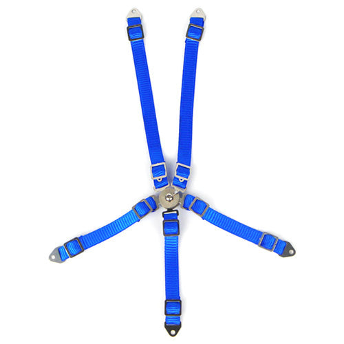 1/10 RC Scale Accessory Blue Safety Seat Belt Racing Harness