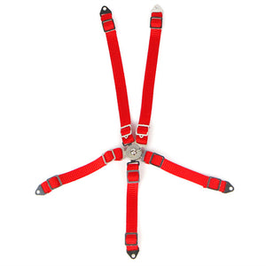 1/10 RC Scale Accessory Red Safety Seat Belt racing Harness