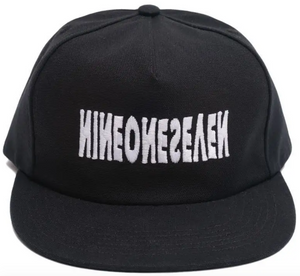 CALL ME 917 CYBER LOGOTYPE HAT BLACK