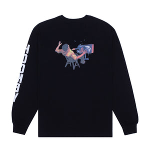 HOCKEY ULTRAVIOLENCE L/S TEE BLACK