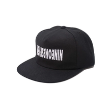 Load image into Gallery viewer, CALL ME 917 CYBER LOGOTYPE HAT BLACK