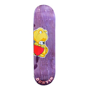 ALLTIMERS STICKER BOARD DUSTIN SKATEBOARD DECK 8.5