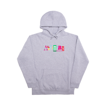 Load image into Gallery viewer, ALLTIMERS SIN GOOD EMBROIDERED HOODY HEATHER GREY