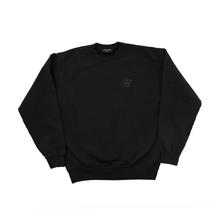 Load image into Gallery viewer, BRONZE 56K B LOGO CREWNECK OFF BLACK
