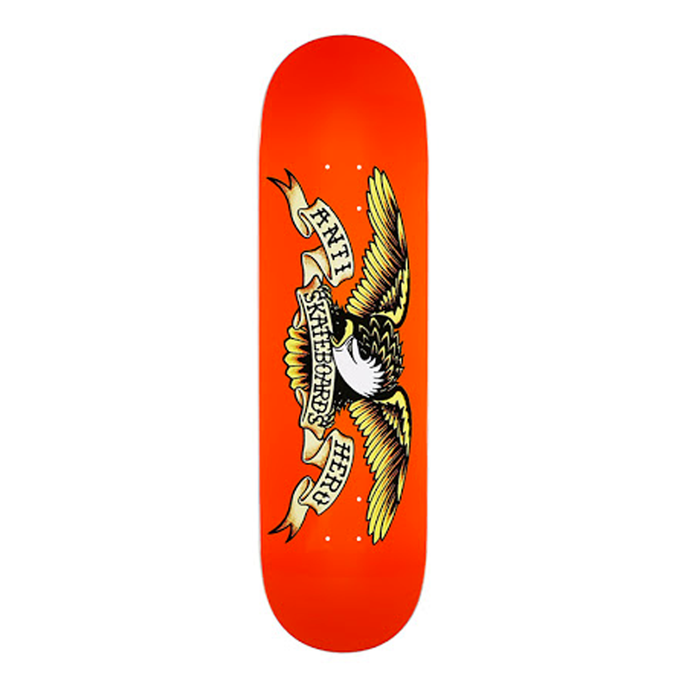 ANTI HERO SKATEBOARDS CLASSIC EAGLE SKATEBOARD DECK 9.0