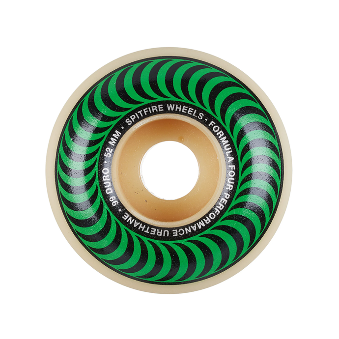 SPITFIRE FOURMULA FOUR CLASSIC SKATEBOARD WHEELS 52 MM 101D