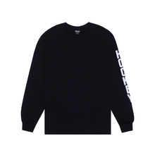 Load image into Gallery viewer, HOCKEY ULTRAVIOLENCE L/S TEE BLACK