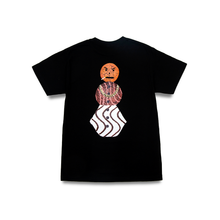 Load image into Gallery viewer, QUARTERSNACKS SNACKMAN TEE BLACK