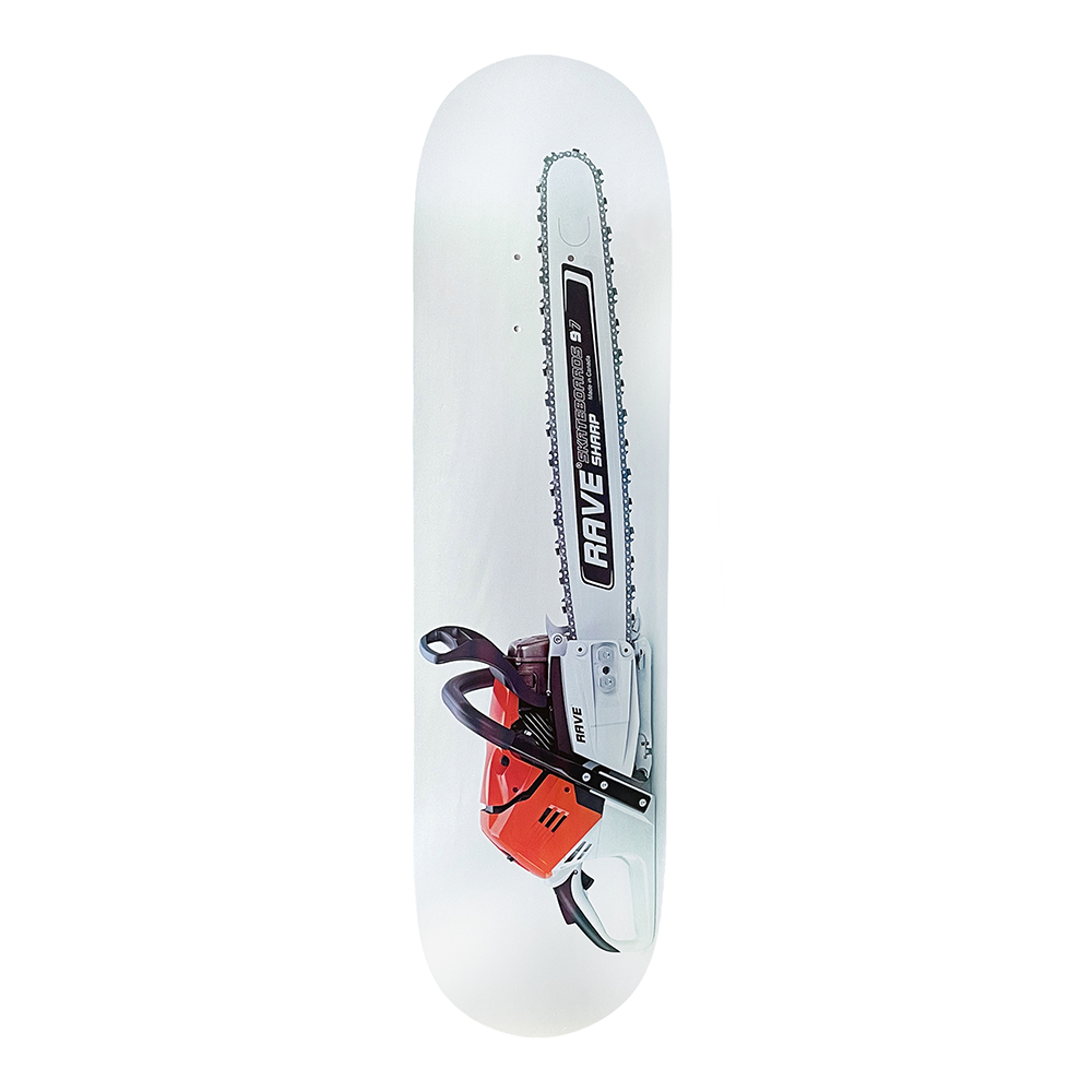RAVE SKATEBOARDS STILL SHARP SKATEBOARD DECK