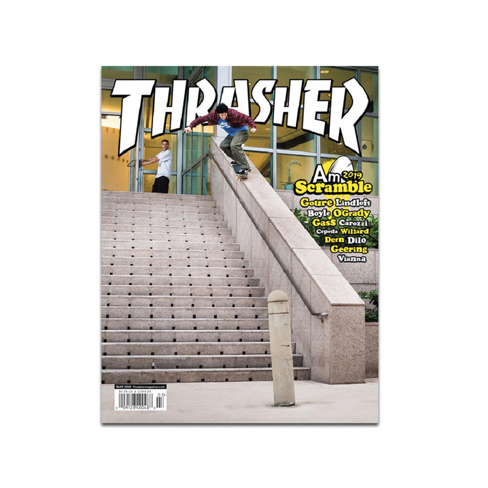 THRASHER MAGAZINE ISSUE #476 MARCH 2020