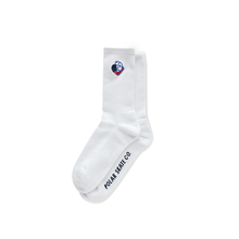 Load image into Gallery viewer, POLAR SKATE CO BIG BOY SOCKS WHITE