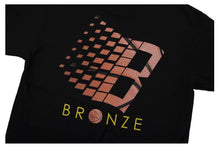 Load image into Gallery viewer, BRONZE 56K B LOGO T-SHIRT BLACK/ BASKETBALL