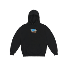 Load image into Gallery viewer, CLASSIC GRIPTAPE JACUZZI HOODIE BLACK