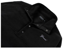 Load image into Gallery viewer, GRAND COLLECTION MICRO FLEECE PULLOVER BLACK