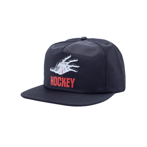 HOCKEY SIDE TWO 5-PANEL HAT BLACK