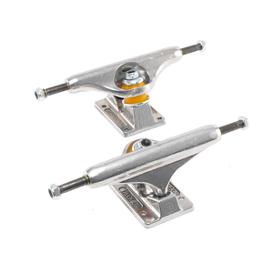 INDEPENDENT STAGE 11 RAW POLISHED SKATEBOARD TRUCKS (PAIR)